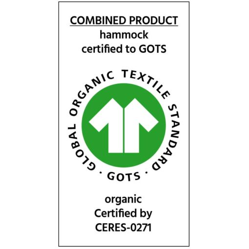 GOTS-Siegel mit CERES-Nummer