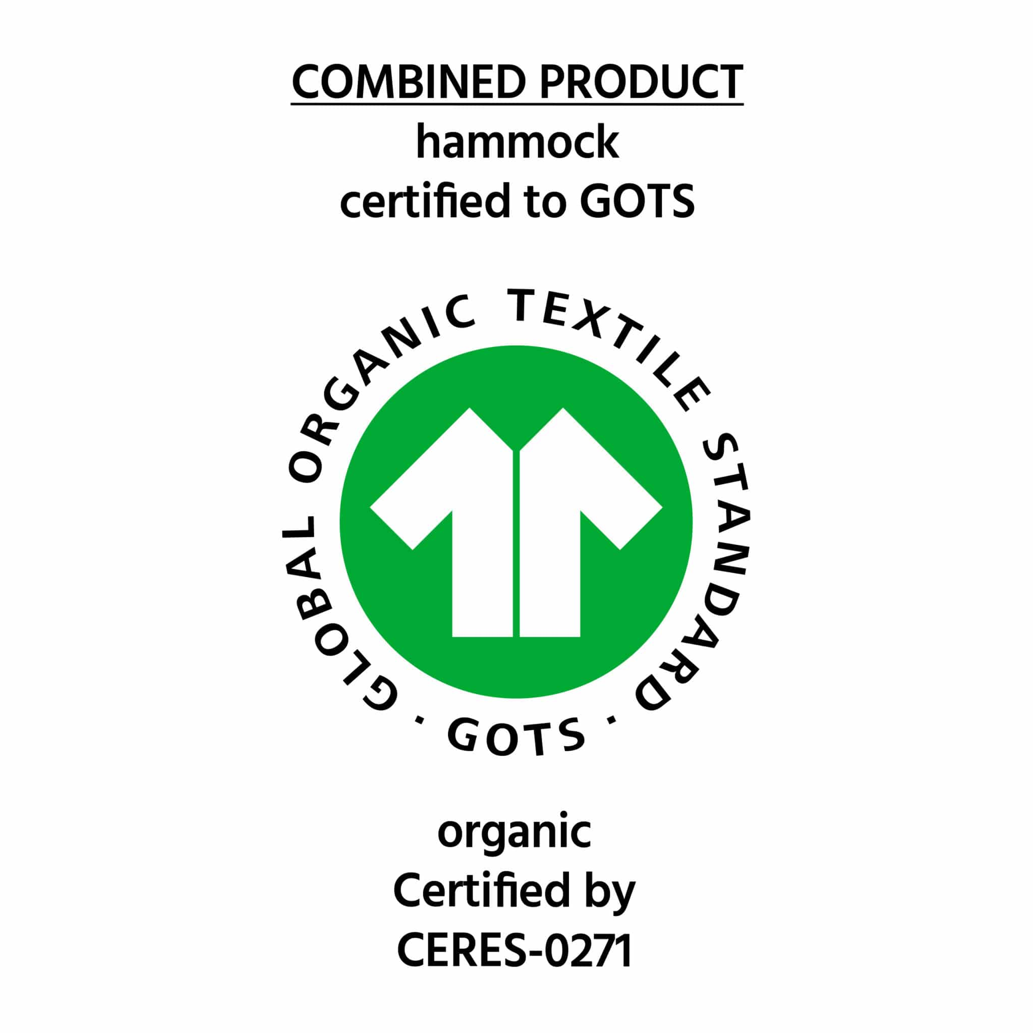 Stabhängematte Famosa Rubin Bio Baumwolle Fair Trade Global Organic Textile