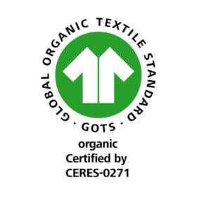 GOTS Label 100% CERES-0271