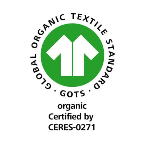 GOTS Label 100% CERES-0271